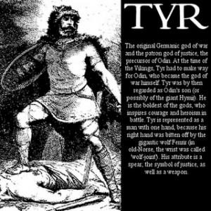 Germanski bog Tyr