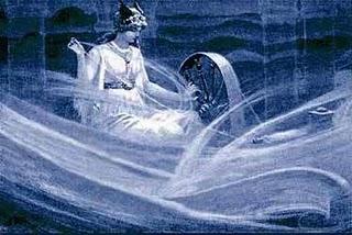 """nordijska boginja Frigg"""
