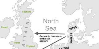 naseljavanje Engleske