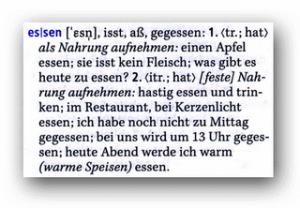 nemački jaki glagoli