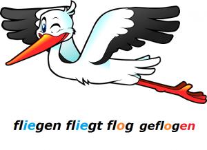 slabi jaki nemački glagoli