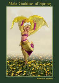 """""""Maja, boginja proleća, najlepša rimska boginja"""""""