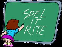"""""""šta znači engleska reč spelovanje"""""""