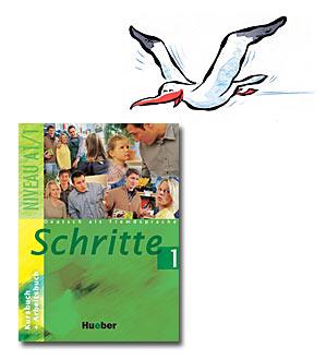 """""""najbolji udžbenik za učenje nemačkog jezika - schritte"""""""