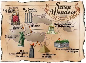sedam svetskih čuda