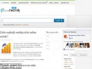 """najbolji Online rečnik na našem jeziku"""