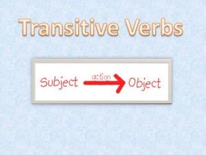"""prelazni, tranzitivni glagoli """
