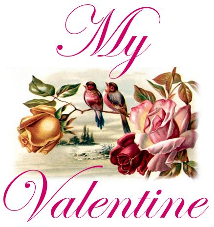 """""""čestitka za Dan zaljubljenih - my valentine"""""""