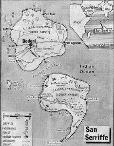 """prvoaprilska šala ostrva SanSerriffe"""