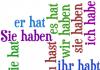 haben glagol nemački