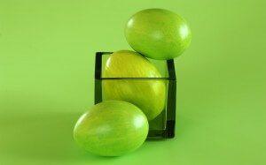uskršnja jaja zelena