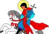 zaštitnik Engleske Sveti Đorđe