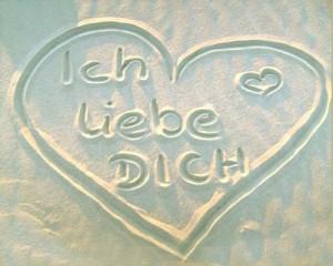 """""""volim te na nemačkom se kaže"""""""