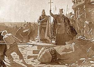 """""""kralj Valdemar ruši kip Svetovida"""""""