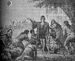 """Kristifor Kolumbo i pomračenje Meseca 1504 godine"""