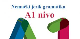 nemački nije bauk A1 gramatika