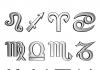 horoskopski znaci na nemačkom