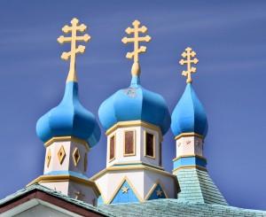 """""""ruska crkva sa kupolama u obliku lukovica"""""""