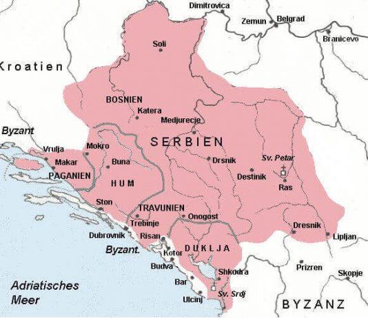 Srbija 9. vek_