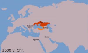 indoevropski jezici mapa