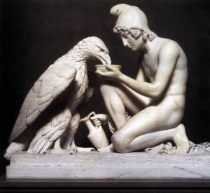 """""""Ganimed i Zevs pretvoren u orla"""""""