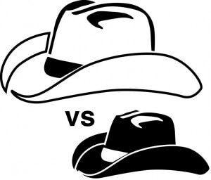 crni i beli šeširi