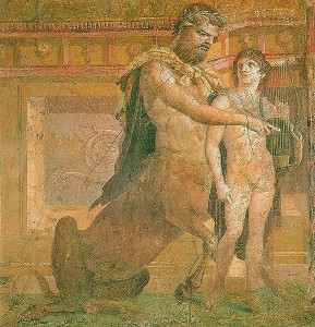 """Kentaur Hiron kao simbol znaka Sterlca"""