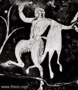 """""""Pan kao simbol znaka Strelca"""""""