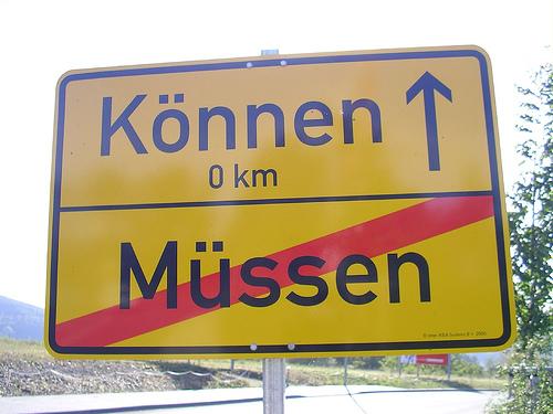 """können - moci"""