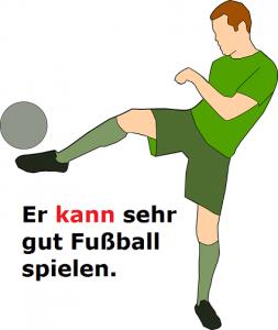 konnen nemački modalni glagoli