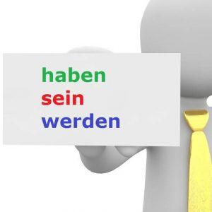 glagoli u nemačkom pomoćni