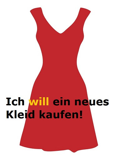 wollen modalni nemački glagol