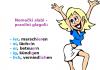 kako razlikovati nemačke glagole