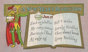 Novogodišnje odluke rezolucije