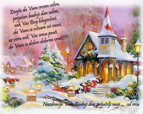 Badnj dan čestitka*