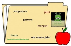 nemački prilozi za vreme zeitadverbien