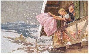 baba Marta i sneg