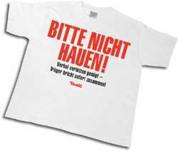 """hauen, tući na nemačkom"""