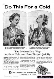 priča o aspirinu Bajerov aspirin nekada 1937