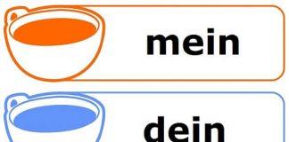 vrste članova nemački