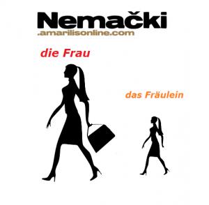 nemačke imenice nastavak - lein