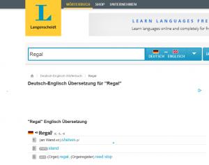 Regal_-_Englisch-Übersetzung_-_Langenscheidt_Deutsch-Englisch_Wörterbuch_-_2015-02-11_13.53.27