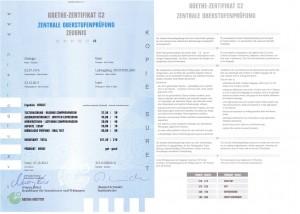 Goethe - Zertifikat C2