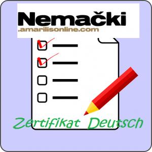 certifikat nemački