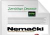 nemački certifikat Zertifikat-Deutsch