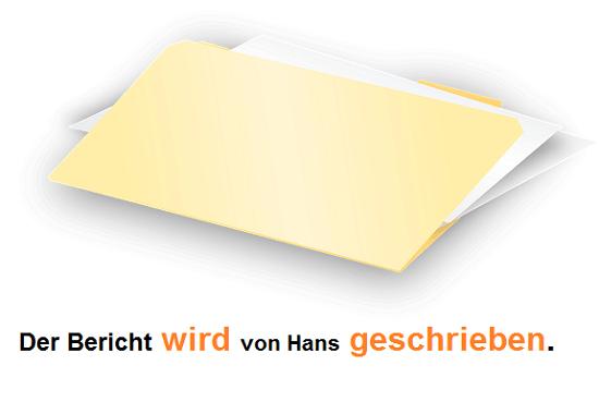 pasiv u nemačkom