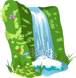 vodopad, kalk nemacki