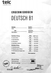 nemački zertifikat deutsch