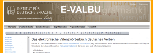 nemački glagoli Valenzwörterbuch
