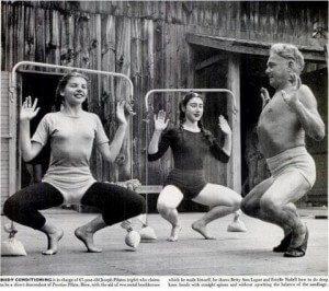 Pilates i njegove učenice